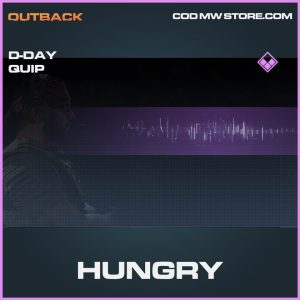 hungry d-day quip epic call of duty modern warfare item