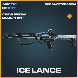 Ice Lance crossbow legendary blueprint call of duty modern warfare item