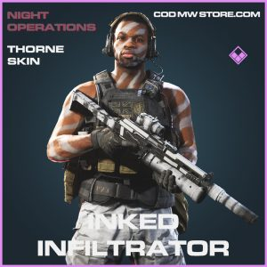 inked infiltrator thorne skin epic call of duty modern warfare item