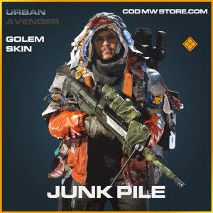 junk pile legendary golem skin call of duty modern warfare item