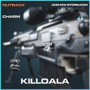 killoala rare charm call of duty modern warfare item