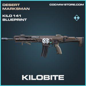 Kilobite 141 skin blueprint rare call of duty modern warfare item