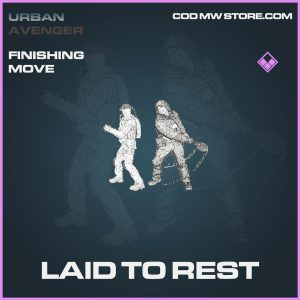 laid to rest epic finishing move call of duty modern warfare item