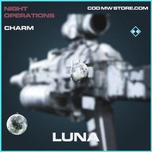 luna charm rare call of duty modern warfare item