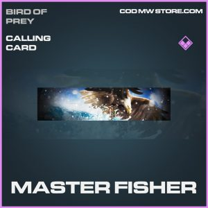 Master Fisher calling card epic call of duty modern warfare item