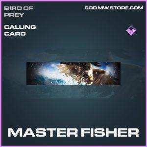 Master Fisher calling card epic call of duty modern warfare item