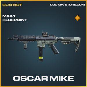Oscar Mike M4A1 skin blueprint legendary call of duty modern warfare item