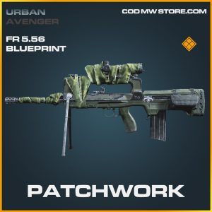 patchwork fr5.56 legendary blueprint call of duty modern warfare item