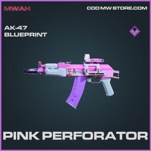 Pink perforator ak-47 skins blueprint call of duty modern warfare items