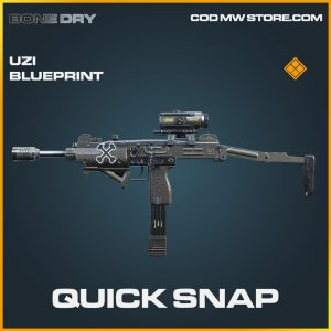 quick snap uzi skin legendary blueprint call of duty modern warfare item