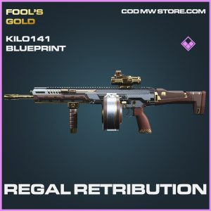 Regal retribution kilo 141 skin epic blueprint call of duty modern warfare item