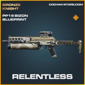 relentless PP19 Bizon skin blueprint call of duty modern warfare item