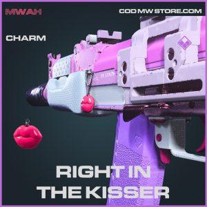 Right in the kisser rare charm call of duty modern warfare items