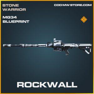 Rockwall mg35 skin legendary blueprint call of duty modern warfare item