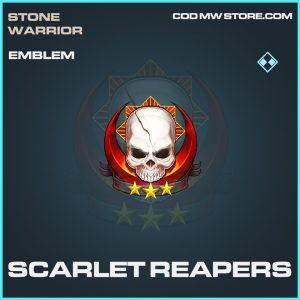 Scarlet Reapers rare emblem call of duty modern warfare item
