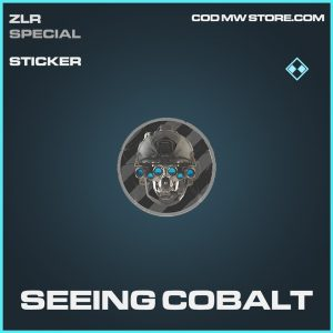 Seeing cobalt rare sticker call of duty modern warfare item