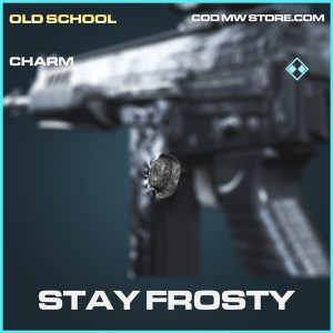 Stay Frosty charm rare call of duty modern warfare item