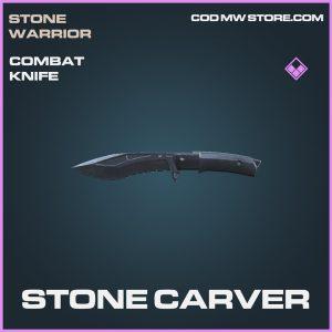 Stone carver epic combat knife call of duty modern warfare item