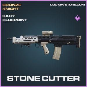 Stone Cutter SA87 Skin epic blueprint call of duty modern warfare item