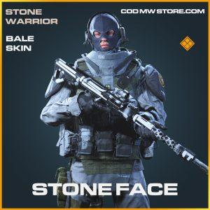 stone face bale skin legendary operator call of duty modern warfare item