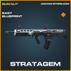Stratagem SA87 skin blueprint legendary call of duty modern warfare item