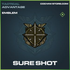 Sure shot common emblem call of duty modern warfare item