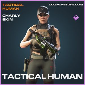 Tactical Human charly skin epic call of duty modern warfare item
