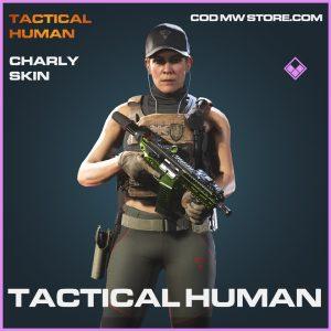 Tactical Human charly skin epic call of duty modern warfare item