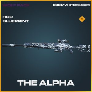 the alpha hdr skin legendar blueprint call of duty modern warfare item