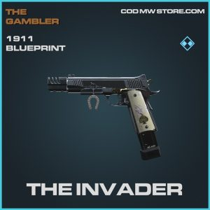 The Invader 1911 skin blueprint rare call of duty modern warfare item