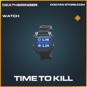 Time To Kill legendary watch call of duty modern warfare item