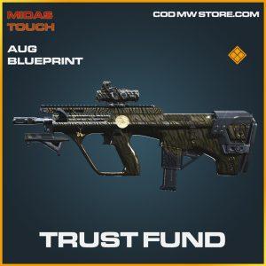 trust fund aug skin legendary blueprint call of duty modern warfare item