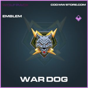 war dog epic emblem call of duty modern warfare item