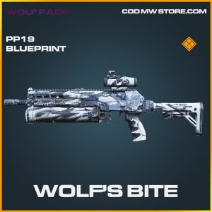 wolf´s bite pp19 blueprint legendary skin call of duty modern warfare item