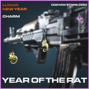 year of the rat charm epic call of duty modern warfare item
