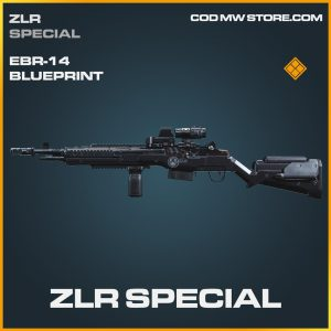 ZLR Special EBR-14 skin legendary blueprint call of duty modern warfare item