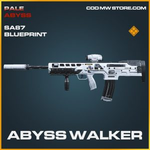 Abyss Walker SA87 skin legendary blueprint call of duty modern warfare item