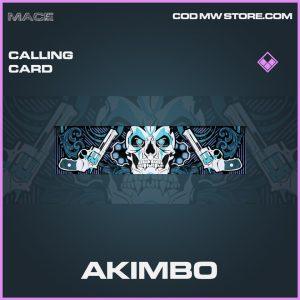 Akimbo calling card epic call of duty modern warfare item
