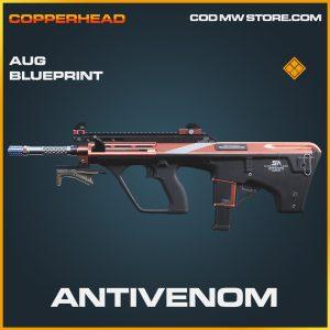 Antivenom AUG skin legendary blueprint call of duty modern warfare item