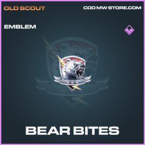 Bear Bites emblem epic call of duty modern warfare item