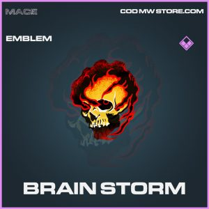 Brain Storm emblem epic call of duty modern warfare item