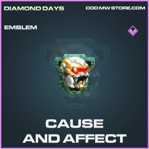 Cause and Affect emblem epic call of duty modern warfare item