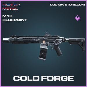 Cold Forge M13 blueprint epic call of duty modern warfare item