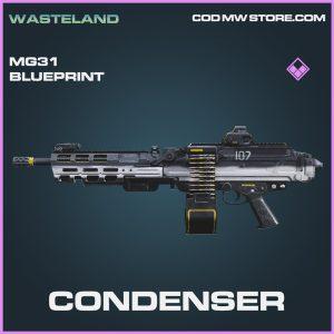Condenser MG31 skin epic blueprint call of duty modern warfare item