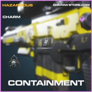 Containment charm epic call of duty modern warfare item