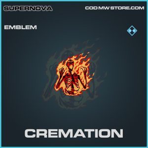 Cremation emblem rare call of duty modern warfare item