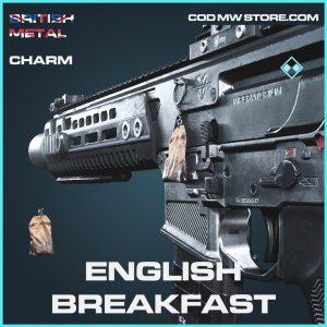 English breakfast rare charm call of duty modern warfare item