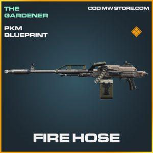 Fire Hose PKM skin legendary call of duty modern warfare item
