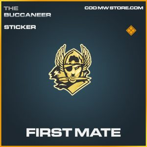 First Mate legendary sticker call of duty modern warfare item