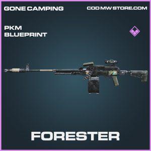 Forester PKM skin epic blueprint call of duty modern warfare item